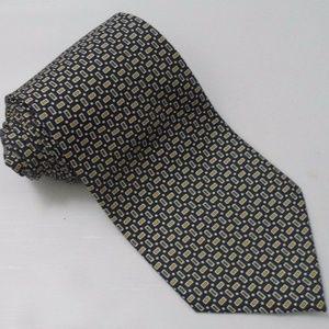 Mens Brooks Brothers Basics 100% Silk Tie Necktie
